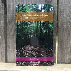 Field Guide to Foraged Dyes book cover